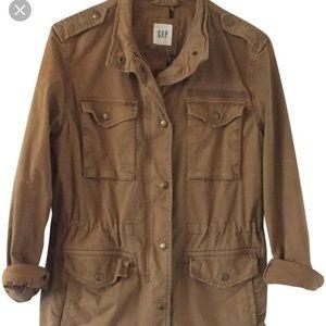 Never Worn Tan Utility Jacket Tan Safari Jacket